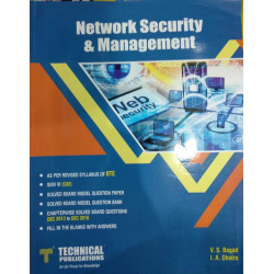 Network security and management | Technical Publications | Bagad | CBCS