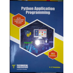 Python Application Programming | Technical Publications | Puntambekar | CBCS