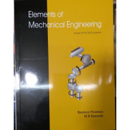Elements of mechanical engineering | Kestoor Praveen | Suggi Publications | CBCS  2018