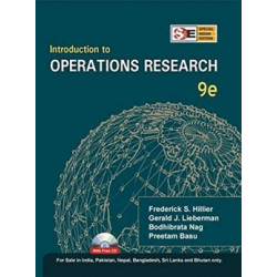 Introduction to Operations Research: Concepts and Cases |Frederick S Hillier and Gerald J Lieberman| McGraw Hill | 9th Edition