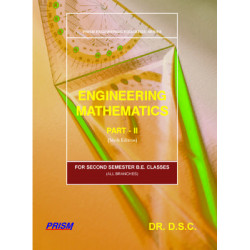 ENGINEERING MATHEMATICS 2 |DR DSC - DS Chandrasheksekharaiah | PRISM BOOKS | 8th Edition | CBCS Scheme