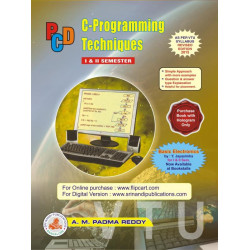 C Programming Techniques | Padma Reddy A M | Sri Nandi Publications