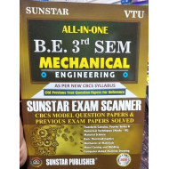 ALL IN ONE EXAM SCANNER FOR Mechanical Engineering | 3rd SEM | SUNSTAR PUBLISHERS