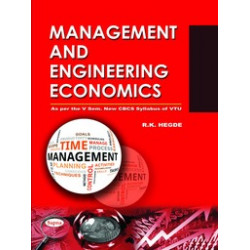 Management and Engineering Economics | Rk Hegde  | Sapna Publications