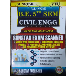 ALL IN ONE EXAM SCANNER FOR Civil Engineering | 5th SEM CBCS | SUNSTAR PUBLISHERS