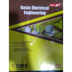 BASIC ELECTRICAL ENGINEERING | V U BAKSHI & A V BAKSHI| TECHNICAL PUBLICATIONS | CBCS 2018