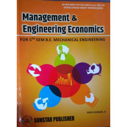 Management and Engineering Economics | Ravikumar | Sunstar Publication