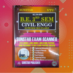 ALL IN ONE EXAM SCANNER FOR Civil Engineering | 3rd SEM | SUNSTAR PUBLISHERS | 2018