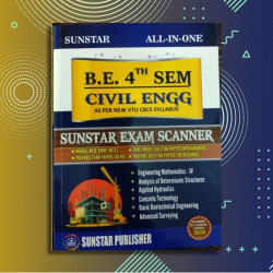 ALL IN ONE EXAM SCANNER FOR Civil Engineering | 4th SEM | SUNSTAR PUBLISHERS | 2019