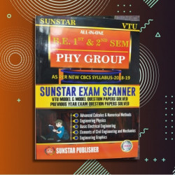 ALL IN ONE EXAM SCANNER FOR FIRST YEAR - PHYSICS CYCLE  |2019 Edition | SUNSTAR PUBLISHERS