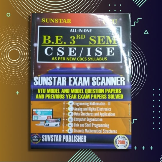 ALL IN ONE EXAM SCANNER FOR CSE - Computer Science | 3rd SEM | SUNSTAR PUBLISHERS | 2018