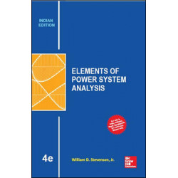 Elements of Power System Analysis| W.D. Stevenson| McGraw Hill India | 4th Edition