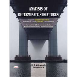 Analysis Of Determinate Structures | Hs Vishwanath, Dharmesh | Sapna Publication | CBCS Scheme