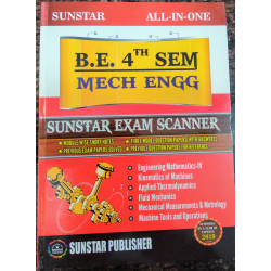 ALL IN ONE EXAM SCANNER FOR Mechanical Engineering | 4th SEM | SUNSTAR PUBLISHERS | 2019