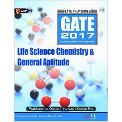 Gate Guide Life Science Chemistry & General Aptitude: 2017