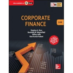 "Corporate Finance | Stephen A. Ross,  Randolph W Westerfield,  Jeffrey Jaffe and Ram Kumar Kakani | McGraw Hill | 2014 |""USED BOOK"""