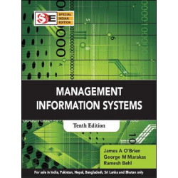 "Management Information Systems	| James Obrein & George Marakas | McGraw-Hill Education | ""USED BOOK"""