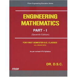 ENGINEERING MATHEMATICS 1| DR.DSC - DS Chandrashekharaiah |PRISM BOOKS | 8th Edition | CBCS Scheme
