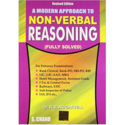 A Modern Approach To Non-Verbal Reasoning ,  R. S. Aggarwal , S Chand