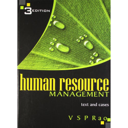 HUMAN RESOURCE MANAGEMENT | VSP RAO | EXCEL BOOKS