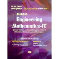 ENGINEERING MATHEMATICS - 4 by Dr. KSC | New CBCS Scheme
