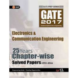 GATE Electronics & Communication Engineering 2017 : 25 Years Chapter-Wise Solved Papers 1992 - 2016  | GK Publications