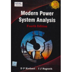 Modern Power System Analysis, I. J. Nagrath and D.P.Kothari, TMH, 4th Edition