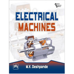 Electrical Machines  By M.V. Deshpande | PHI Learning | 1st Edition