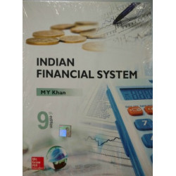 "Indian Financial System | M Y KHAN | McGraw Hill Education | 9th Edition |""NEW BOOK"""