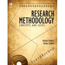 "Research Methodology Concepts And Cases | Deepak Chawla, Neena Sondhi | 1st Edition |  Vikas Publishing House | ""USED BOOK"""
