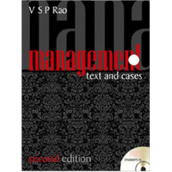 "Management - Text and Cases , VSP Rao, Excel Books, 2nd Edition | ""USED BOOK"""