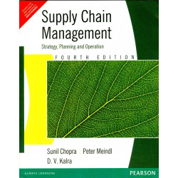 Supply Chain Management – Strategy, Planning & Operation | Sunil Chopra & Peter Meindl |  Pearson | 6th edition