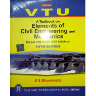 Elements of Civil Engineering  |S.S. Bhavikatti | New Age International