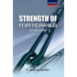 Strength of Materials | Subramanyam | Oxford University Press | 2016 Edition
