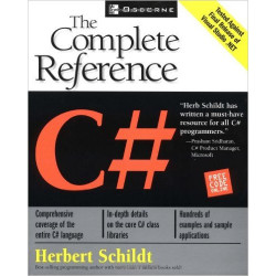 C# The Complete Reference | Herbert Schildt |Tata McGraw Hill | 1st Edition