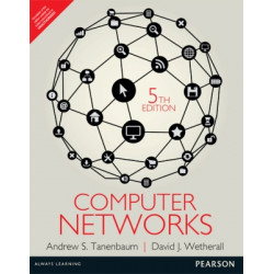 Computer Networks | Andrew S. Tanenbaum , David J. Wetherall | Pearson | 5th Edition