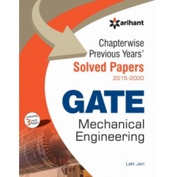 Chapterwise Previous Years' Solved Papers (2015-2000) GATE Mechanical Engineering,   Arihant