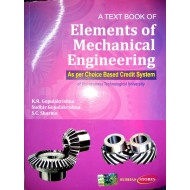 A Textbook of Elements of Mechanical Engineering | K.R.Gopalkrishna | Subhash Publishers